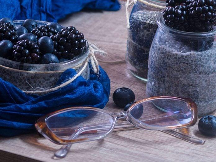 L'un des bienfaits des bleuets est d'améliorer la vision.