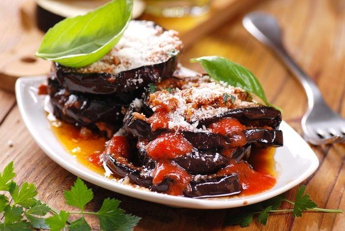 Meilleures recettes rapides et santé: Aubergines parmesan.