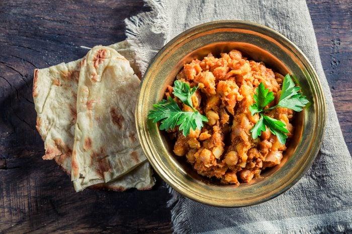 Meilleures recettes rapides et santé: Curry aux légumes.