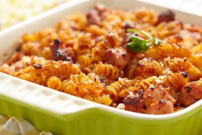Meilleures recettes rapides et santé: Macaroni fromage et tomates.