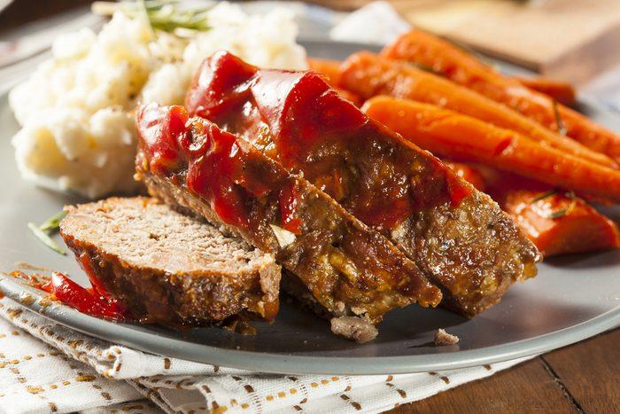 Meilleures recettes rapides et santé: Pain de viande.