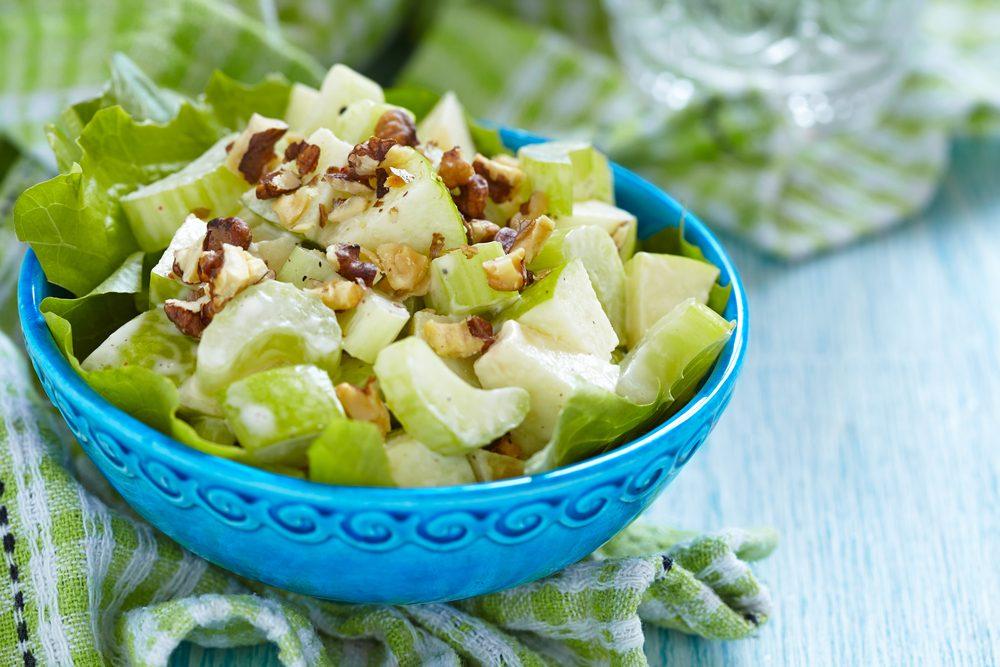 Meilleures recettes rapides et santé: salade de céleri.
