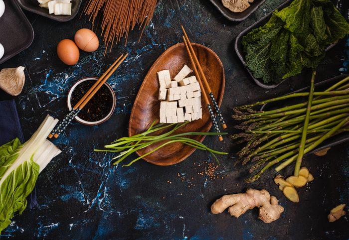 Meilleures recettes rapides et santé: Sauté au tofu.