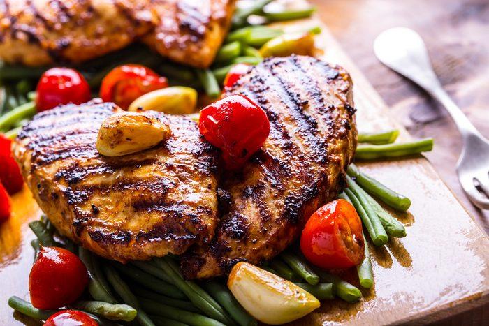 Meilleures recettes rapides et santé: Blancs de poulet.