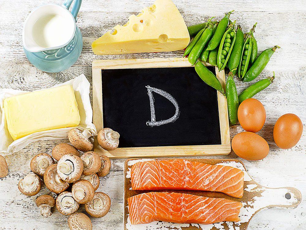 La vitamine D pour avoir plus d'énergie?