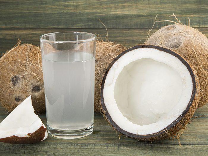 Hydratez-vous si vous avez une gueule de bois.
