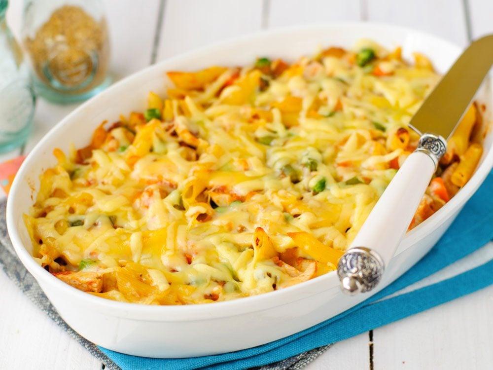 Recette santé de macaronis au fromage