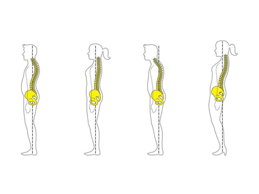 4 trucs pour avoir une meilleure posture.