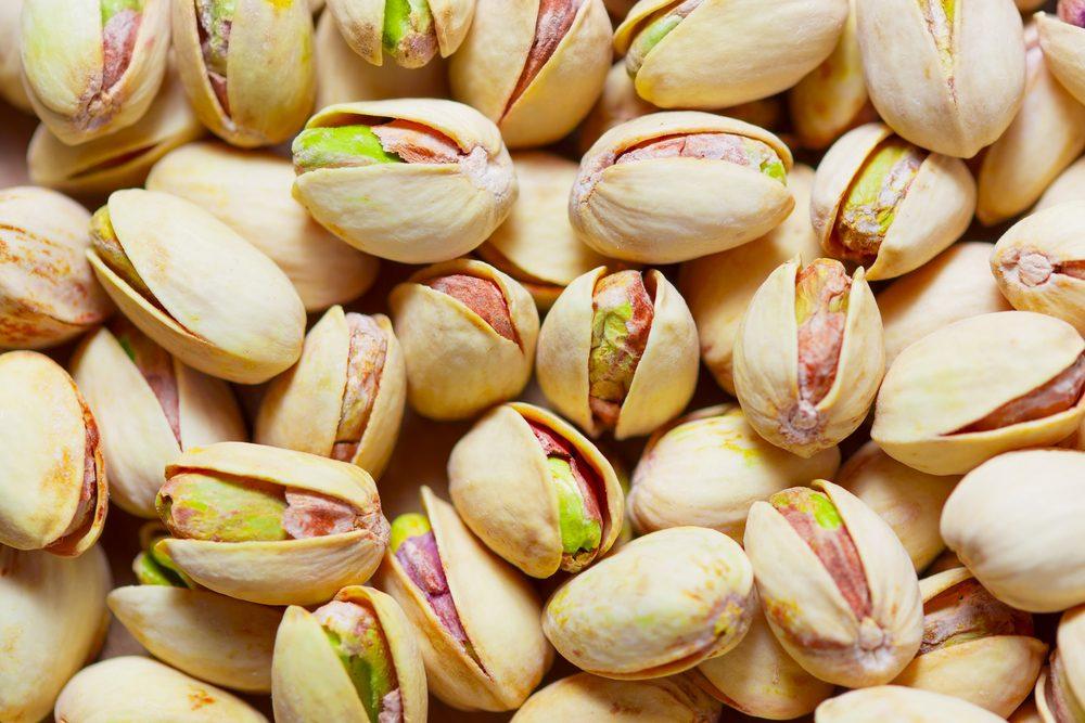 Des pistaches pour couper la faim
