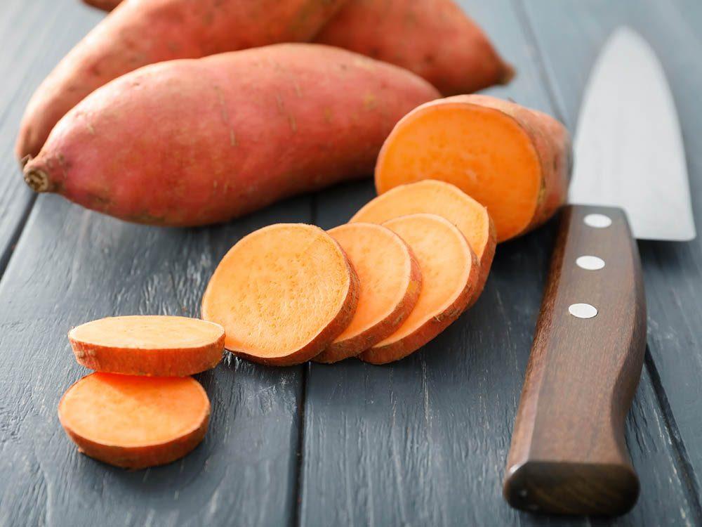 Coupe-faim : faites-vous une tranche de patate douce.