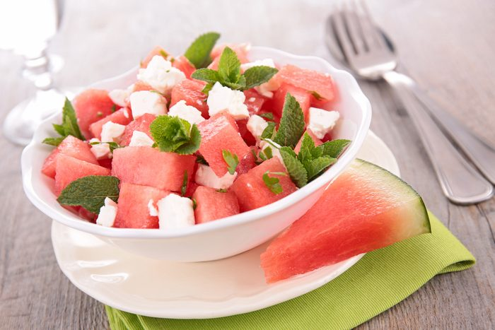 Une salade coupe-faim comme collation