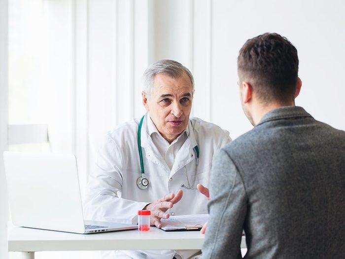 Symtomes de la dépression : consultez un professionnel.