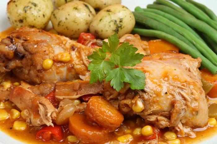 Une recette de faisan et pommes de terre
