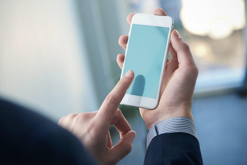 Téléphone intelligent ou tablette
