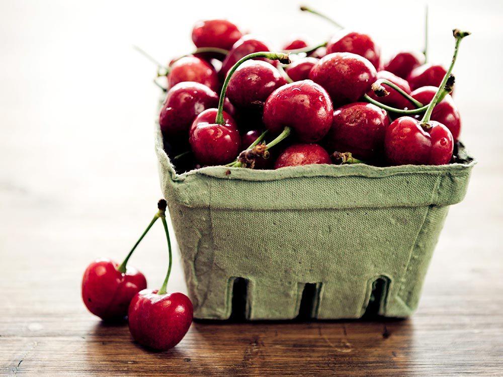 Parmi les aliments anti-inflammatoires, on retrouve les cerises.