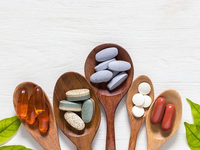 Des suppléments pour soulager douleurs articulaires et musculaires.