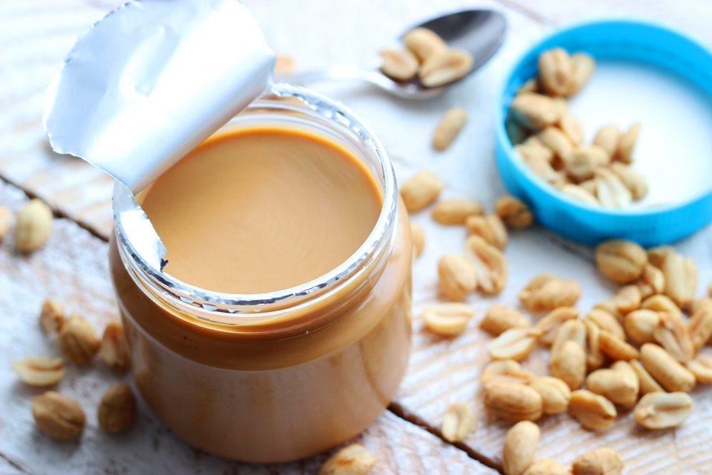 Ne vous procurez plus de beurre d'arachide léger