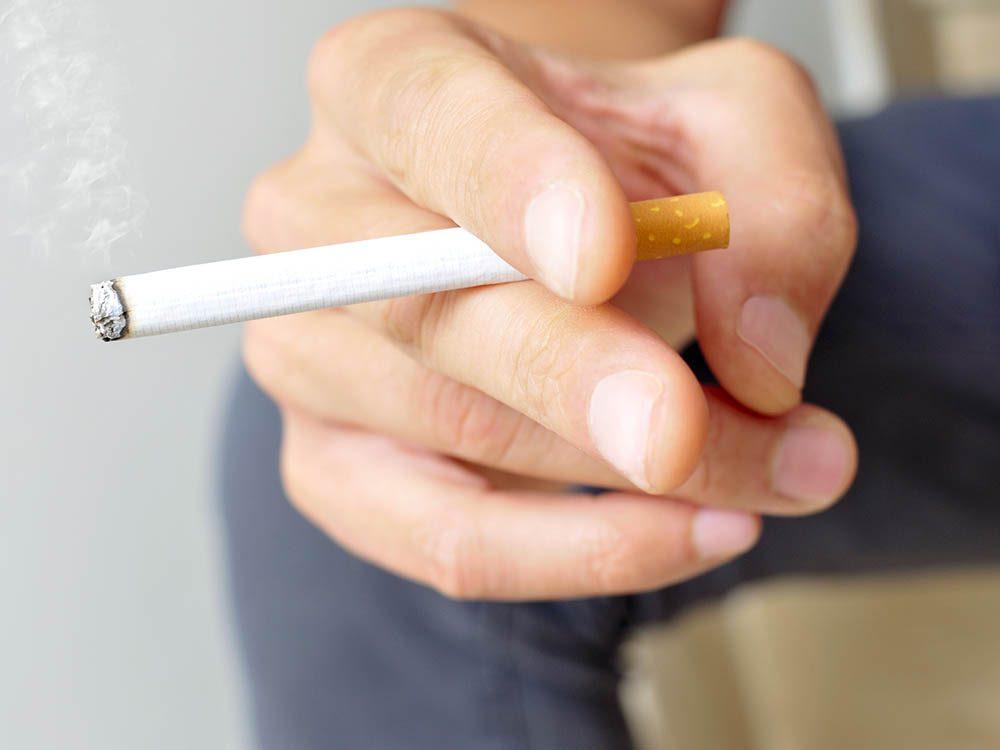 Pour avoir un cerveau en santé, évitez le tabac.