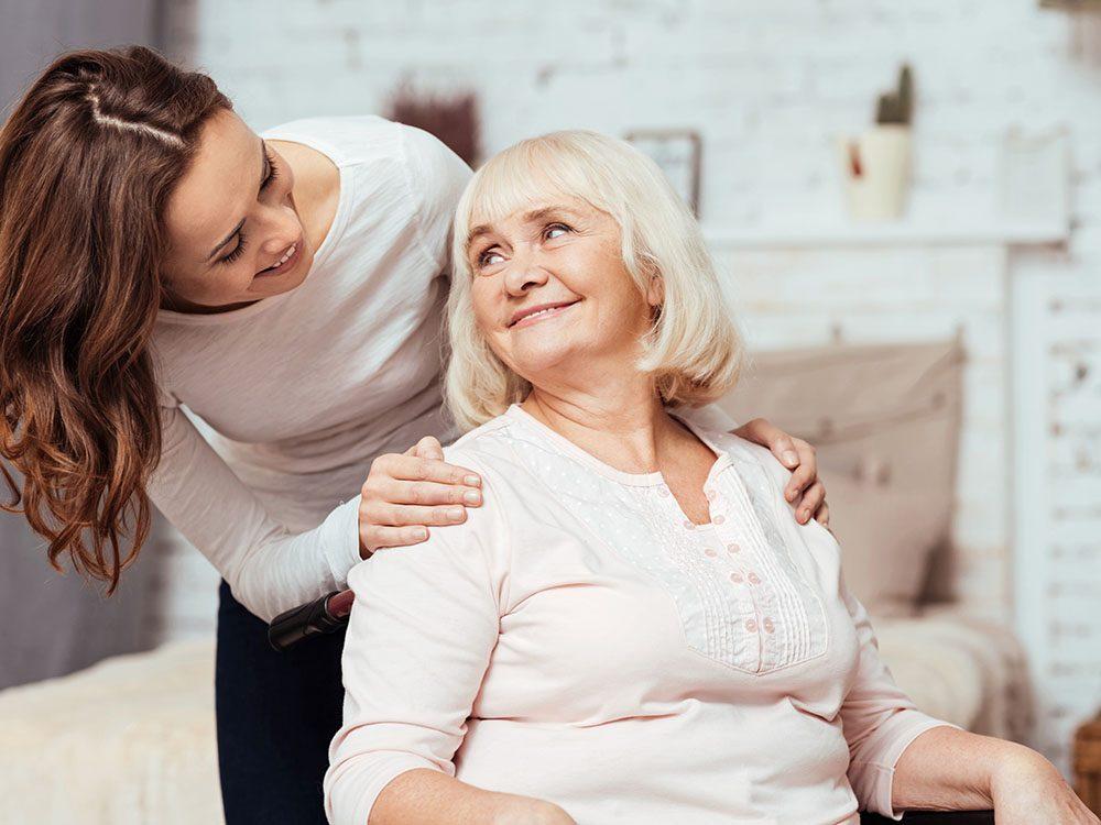 Augmentez votre espérance de vie en aidant quelqu'un.