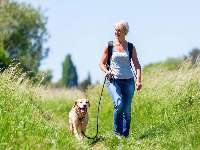 Augmentez votre espérance de vie en allant marcher.