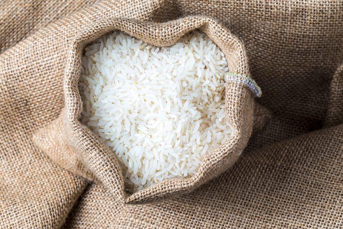 Ne pas racheter de riz blanc