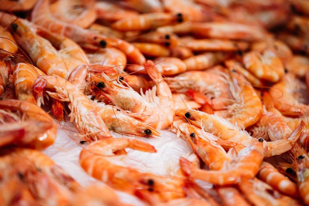 N'achetez plus de crevettes importées.