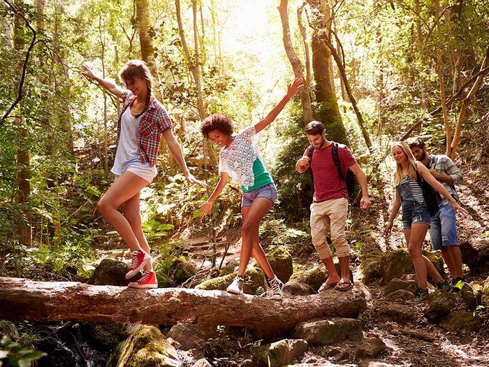 Stimuler la santé et diminuer la tension artérielle grâce à la nature.
