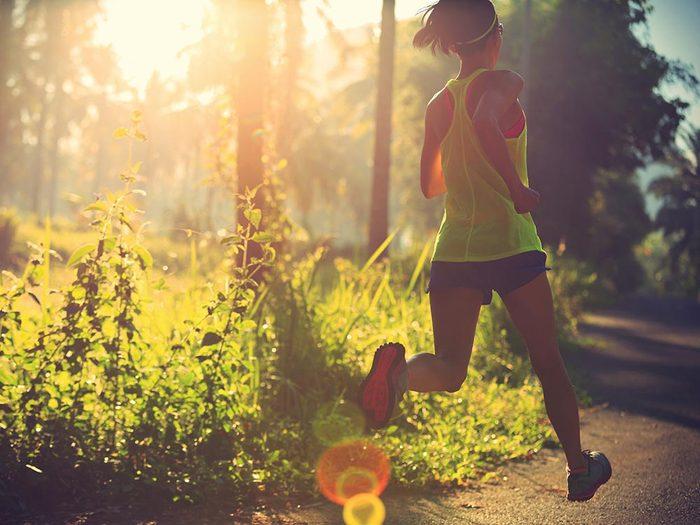Vous êtes plus motivée à vous entraîner plus longtemps