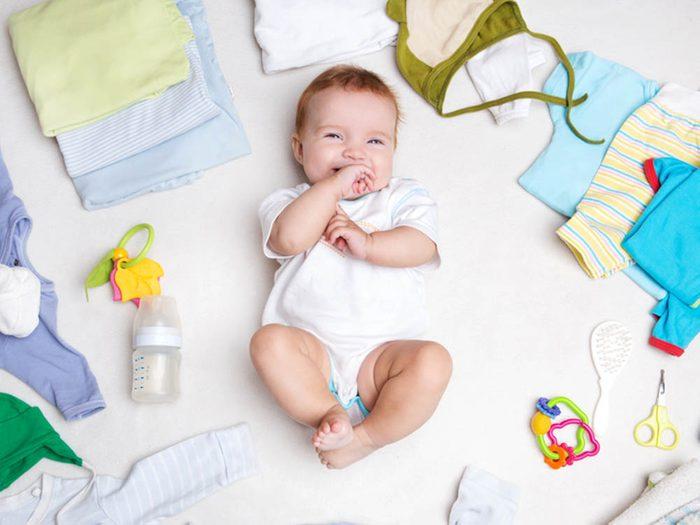 Choses à savoir sur le rire: les bébés aussi ont le sens de l'humour.