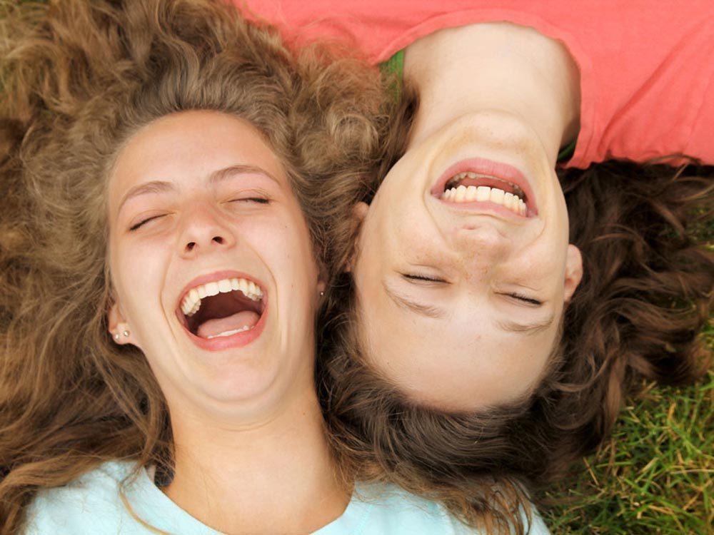 Choses à savoir sur le rire: il peut dépendre de la nationalité.