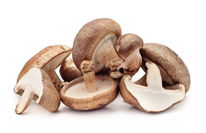 Les champignons shiitake