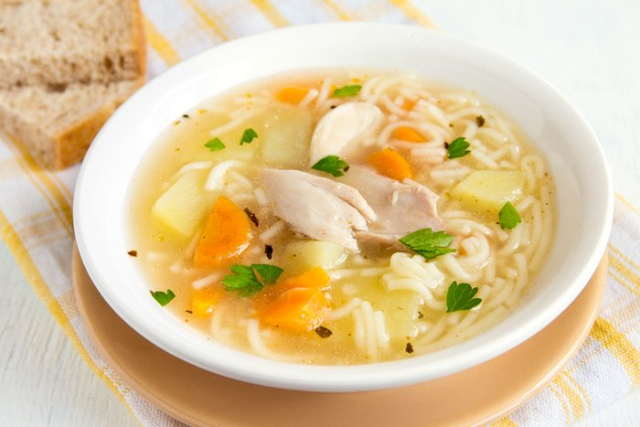 La soupe au poulet