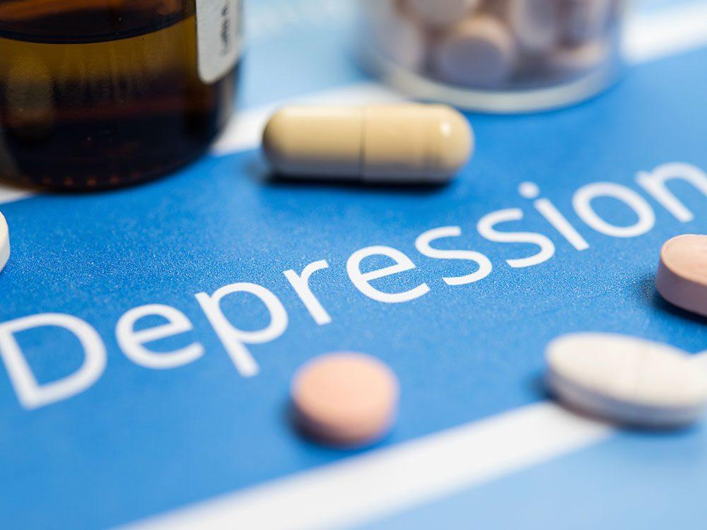 La limite de la médication contre la dépression.