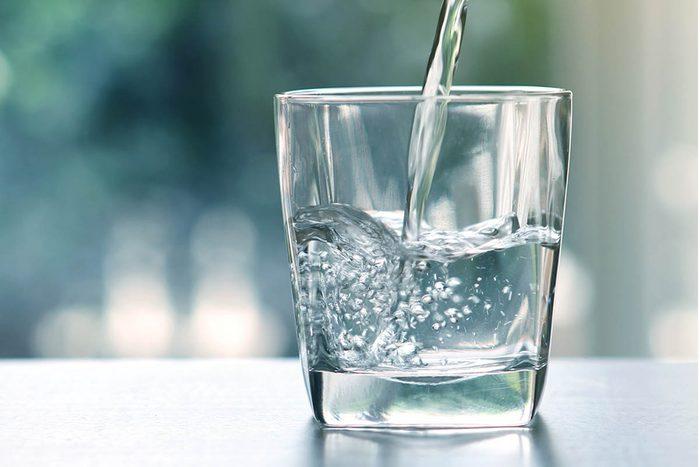 Détox : buvez beaucoup d'eau!