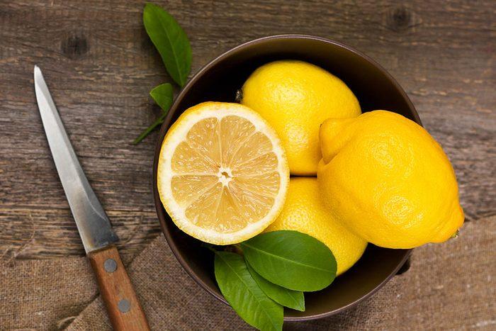 Aliment détox : le citron.