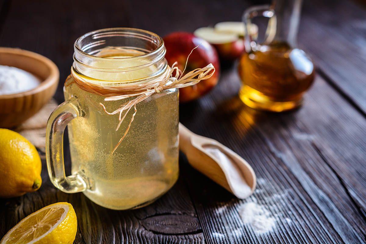 Aliment détox : le vinaigre de cidre de pomme.