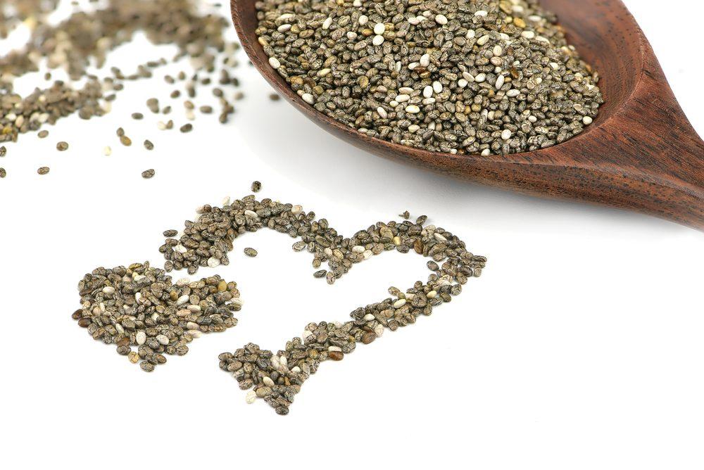 Autre vertu des graines de chia: elles sont riches en oméga-3.
