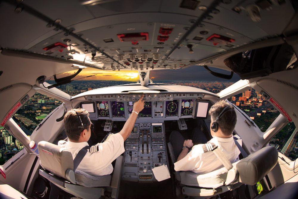 Les zones de turbulences en avion.