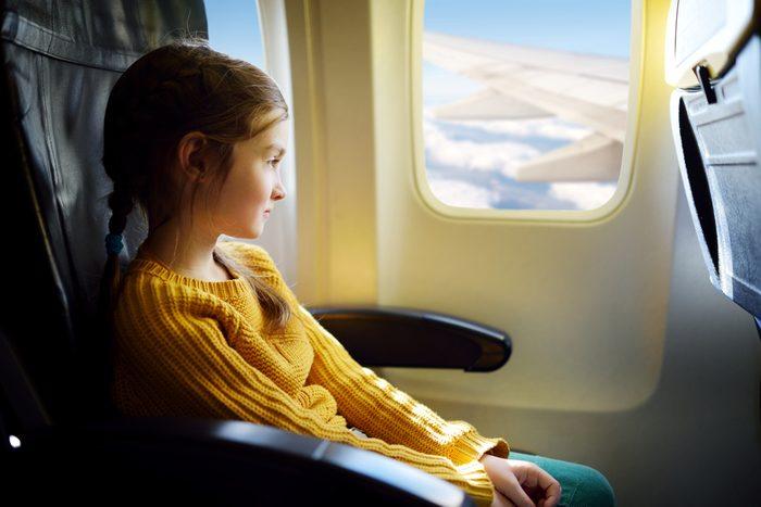 La meilleure place dans l'avion: près des ailes, au centre.