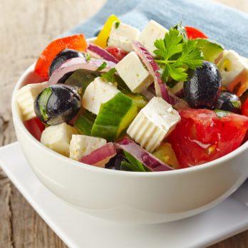 Salade paysanne à la grecque
