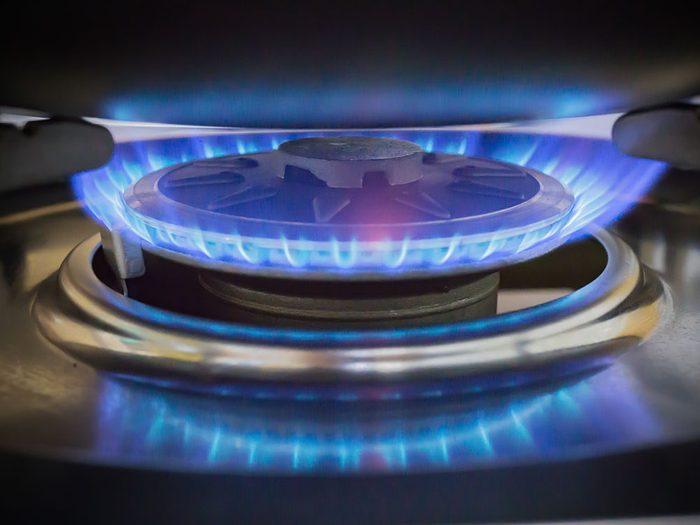 Attention aux polluants des cuisinières à gaz.