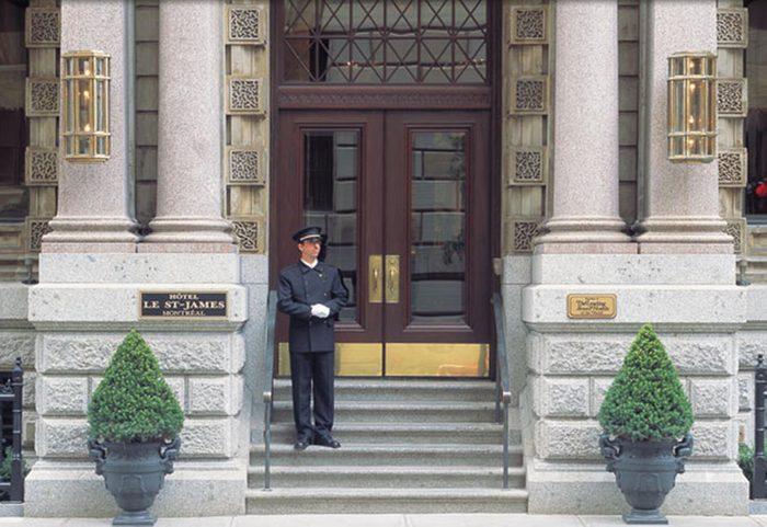 Voyage au canada: si vous vous arrêtez à Montréal, résidez à l'hôtel St-James pour voir des stars.