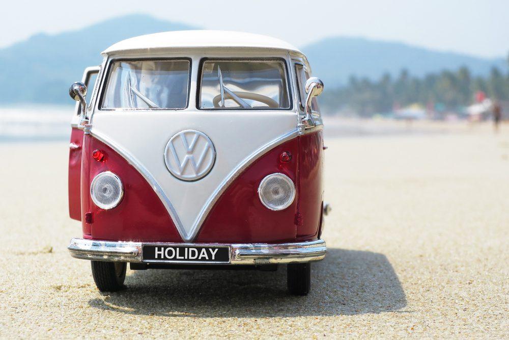 """Voiture célèbre : la Volkswagen T2A 1968 de la série """"Perdus""""."""