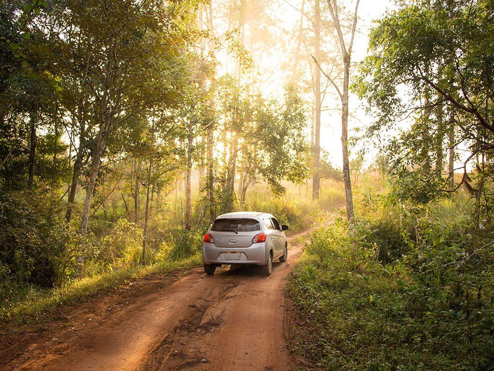 Avant l'achat d'une voiture, testez la sur le chemin de votre choix.