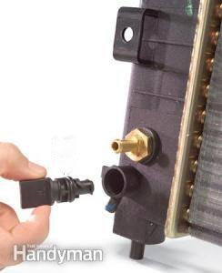 changer-antigel-ouvrir-robinet
