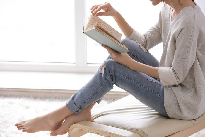 Lire aide à minimiser le stress