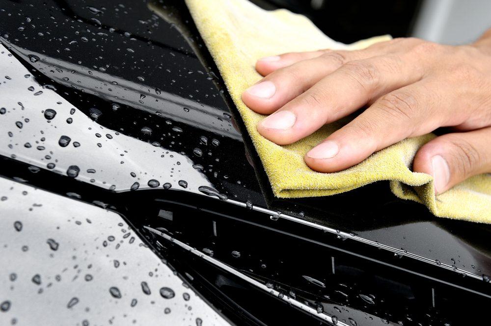 Évitez de faire sécher votre auto à l'air libre