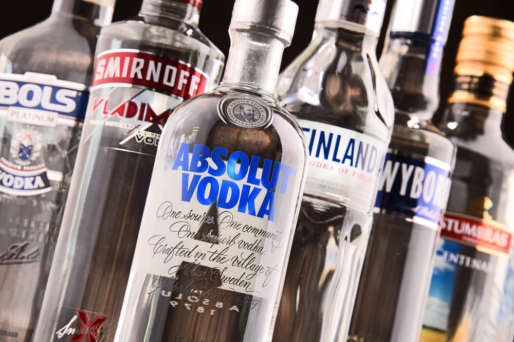 De la vodka comme lave-glace