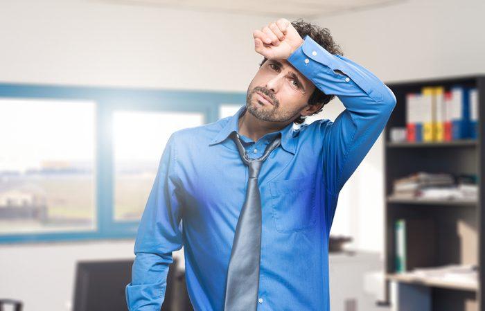 Le stress dégage une odeur