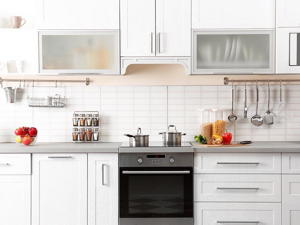Entretien ménager: faites des ajustements dans la cuisine.